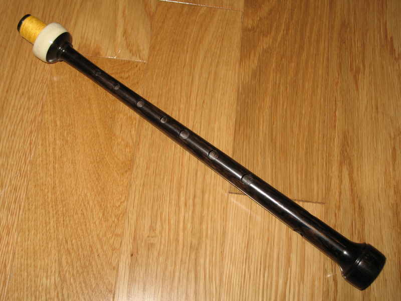 Strathmore Bagpipe Chanter Blackwood w/ Im. Ivory Bulb